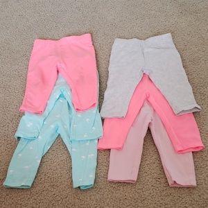 6 months girls pants